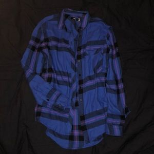 BDG Molly Flannel Button-Down Shirt